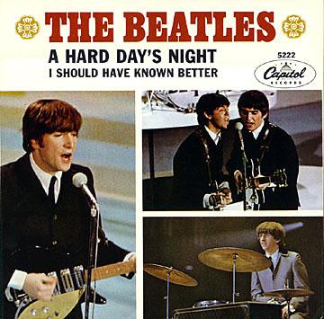 THE BEATLES - A HARD DAY'S NIGHT ALBUM LYRICS